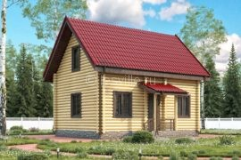 Дом 6х9 с мансардой (ДБ-15)