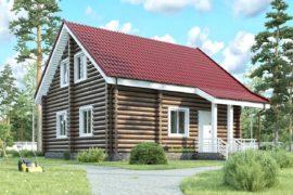 Дом 10х9 с мансардой (ДБ-6)