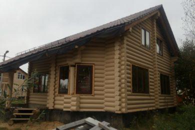 Дом 12х12 из ОЦБ