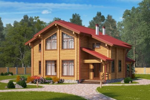 Дом 12х13 с мансардой (ДПБ-31)