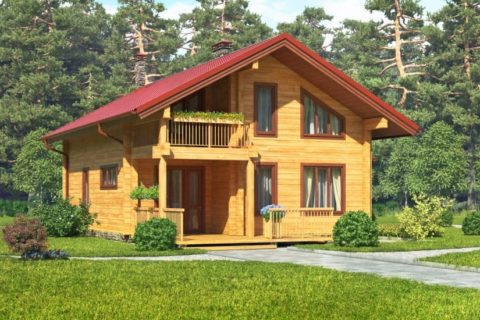 Дом 11х12 с мансардой (ДПБ-17)
