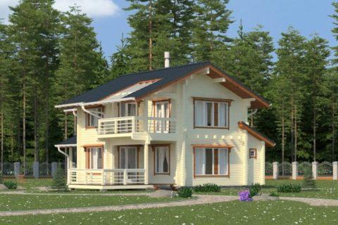 Дом 10х11 с мансардой (ДПБ-15)