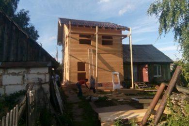 Дом 8х9 из профилированного бруса