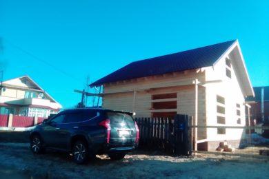 Дом 8х8 из строганного бруса